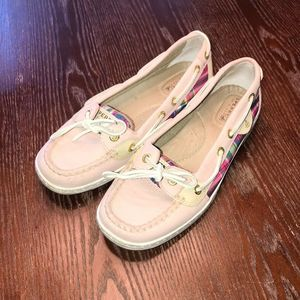 Sperry Top-Sider Leather Boat Shoes 6.5M